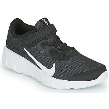 Topánky Deti Nízke tenisky Nike EXPLORE STRADA PS Čierna / Biela