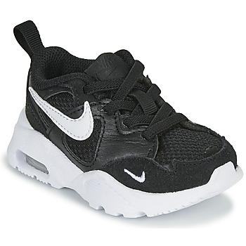 Topánky Deti Nízke tenisky Nike AIR MAX FUSION TD Čierna / Biela
