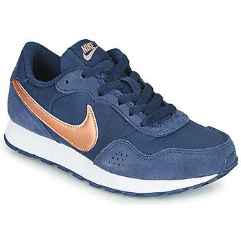 Topánky Deti Nízke tenisky Nike MD VALIANT GS Modrá / Medená