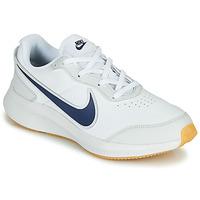 Topánky Chlapci Nízke tenisky Nike VARSITY LEATHER GS Biela / Modrá