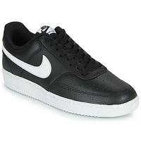 Topánky Muži Nízke tenisky Nike COURT VISION LOW Čierna / Biela