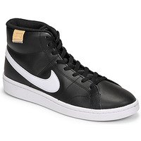 Topánky Muži Nízke tenisky Nike COURT ROYALE 2 MID Čierna / Biela