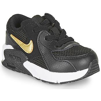 Topánky Deti Nízke tenisky Nike AIR MAX EXCEE TD Čierna / Zlatá