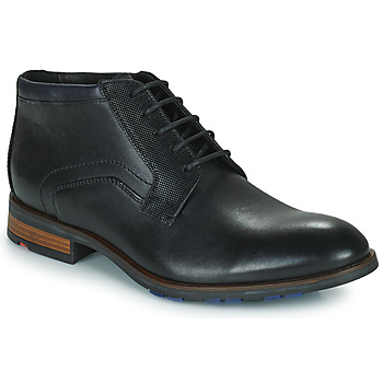 Topánky Muži Polokozačky Lloyd JARON Čierna