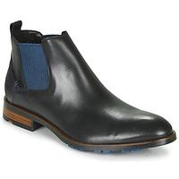 Topánky Muži Polokozačky Lloyd JASER Čierna