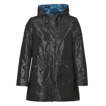 Oblečenie Ženy Parky One Step FR42001 Čierna