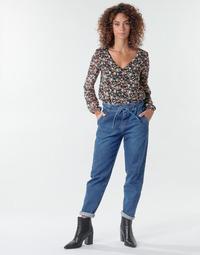 Oblečenie Ženy Nohavice päťvreckové One Step FR29091_46 Modrá