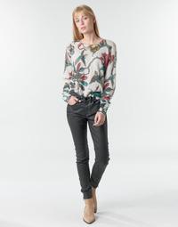 Oblečenie Ženy Nohavice päťvreckové One Step FR29031_02 Čierna