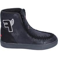Topánky Dievčatá Čižmičky Fiorucci BM430 Čierna
