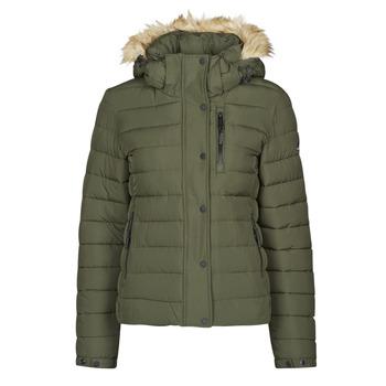 Oblečenie Ženy Vyteplené bundy Superdry CLASSIC FAUX FUR FUJI JACKET Moss
