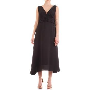 Oblečenie Ženy Dlhé šaty Fly Girl 9845-01 Nero