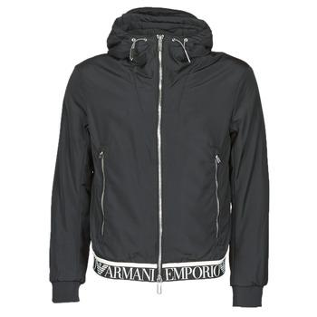 Oblečenie Muži Bundy  Emporio Armani 6H1BL6 Čierna