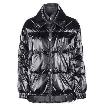 Oblečenie Ženy Vyteplené bundy Emporio Armani 6H2B97 Čierna