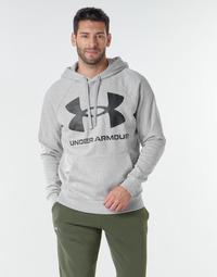 Oblečenie Muži Mikiny Under Armour UA RIVAL FLEECE BIG LOGO HD Šedá