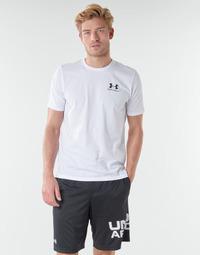 Oblečenie Muži Tričká s krátkym rukávom Under Armour SPORTSTYLE LEFT CHEST SS Biela