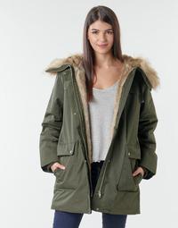 Oblečenie Ženy Parky Esprit LL*3M FEM PARKA Kaki