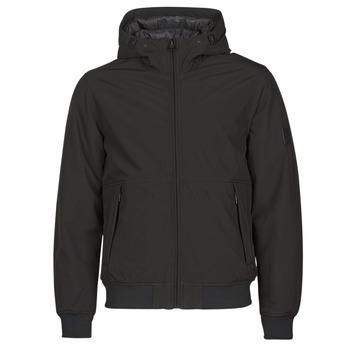 Oblečenie Muži Vyteplené bundy Esprit LL 3LSOFTSHEL Čierna