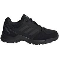Topánky Deti Turistická obuv adidas Originals Terrex Hyperhiker Low K Čierna