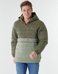 Oblečenie Muži Vyteplené bundy Vans CARLTON PUFFER ANORAK II Zelená