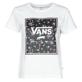 Oblečenie Ženy Tričká s krátkym rukávom Vans BOXED IN BOXY Biela