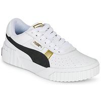 Topánky Ženy Nízke tenisky Puma CALI VARSITY Biela / Čierna
