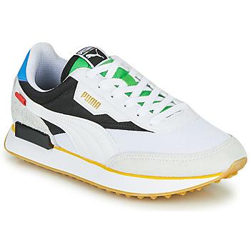 Topánky Nízke tenisky Puma FUTURE RIDER Unity Collection Biela / Čierna