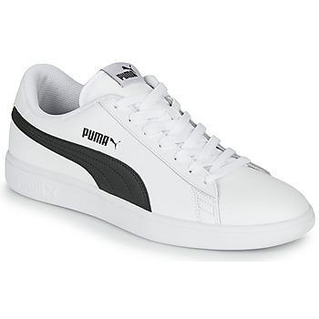 Topánky Muži Nízke tenisky Puma SMASH Biela / Čierna