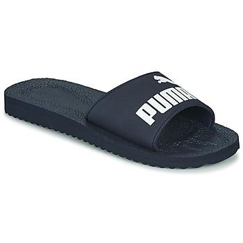 Topánky športové šľapky Puma PURECAT Námornícka modrá
