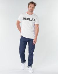 Oblečenie Muži Rovné Rifle  Replay GROVER Modrá