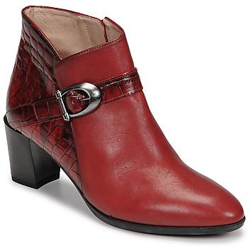 Topánky Ženy Čižmičky Hispanitas PIRINEO Červená