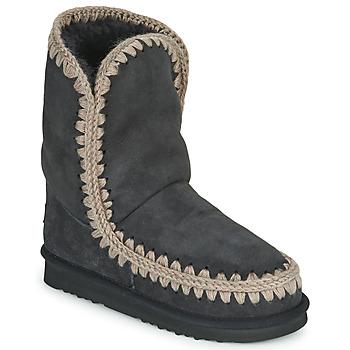 Topánky Ženy Polokozačky Mou ESKIMO 24 Čierna