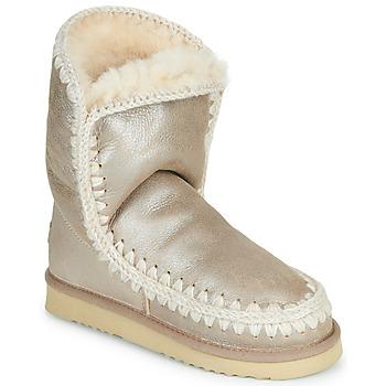 Topánky Ženy Polokozačky Mou ESKIMO 24 Zlatá