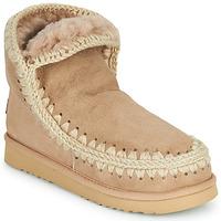 Topánky Ženy Polokozačky Mou ESKIMO 18 Béžová