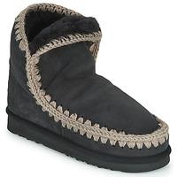 Topánky Ženy Polokozačky Mou ESKIMO 18 Čierna