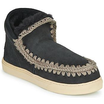 Topánky Ženy Polokozačky Mou ESKIMO SNEAKER Čierna