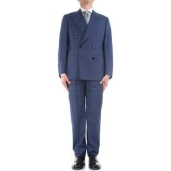 Oblečenie Muži Obleky Cesare Attolini S20WA30 B12 Blue