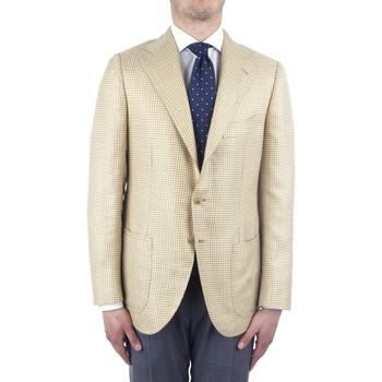 Oblečenie Muži Saká a blejzre Cesare Attolini S20MA43 Yellow