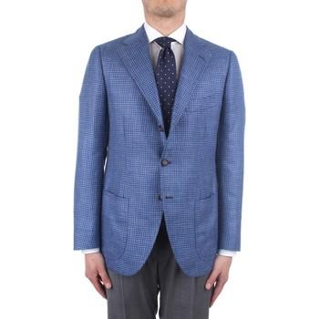 Oblečenie Muži Saká a blejzre Cesare Attolini S20MA43 Blue