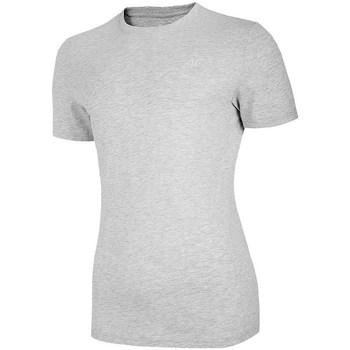 Oblečenie Ženy Tričká s krátkym rukávom 4F TSM003 Sivá