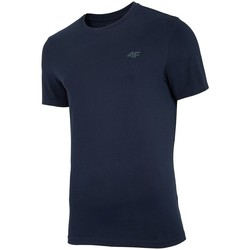 Oblečenie Muži Tričká s krátkym rukávom 4F TSM003 Čierna