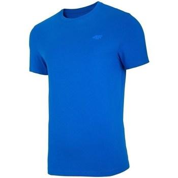 Oblečenie Muži Tričká s krátkym rukávom 4F TSM003 Modrá