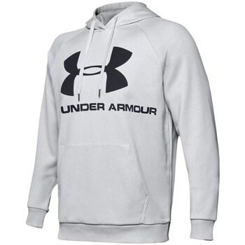 Oblečenie Muži Mikiny Under Armour Rival Fleece Logo Hoodie Sivá