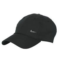 Textilné doplnky Šiltovky Nike U NSW H86 METAL SWOOSH CAP Čierna / Strieborná