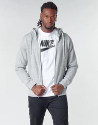 Oblečenie Muži Mikiny Nike M NSW CLUB HOODIE FZ BB Šedá