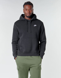 Oblečenie Muži Mikiny Nike M NSW CLUB HOODIE PO BB Čierna / Biela