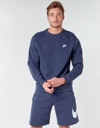 Oblečenie Muži Mikiny Nike M NSW CLUB CRW BB Modrá