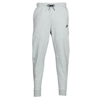 Oblečenie Muži Tepláky a vrchné oblečenie Nike M NSW TCH FLC JGGR Šedá