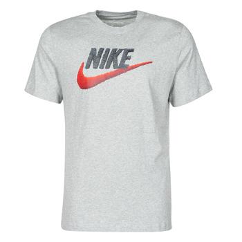 Oblečenie Muži Tričká s krátkym rukávom Nike M NSW TEE BRAND MARK Šedá