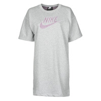 Oblečenie Ženy Krátke šaty Nike W NSW DRESS FT M2Z Šedá