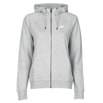 Oblečenie Ženy Mikiny Nike W NSW ESSNTL HOODIE FZ FLC Šedá